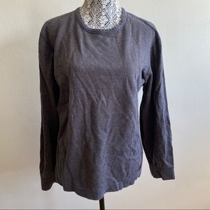 Authentic Roots Charcoal Brown 100% Cotton Sweater